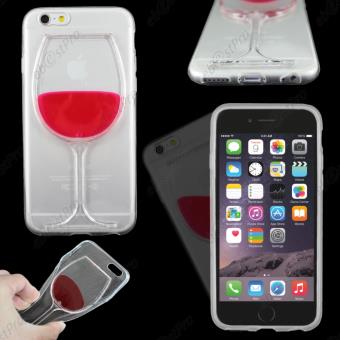 ebestStar pour Apple iPhone 6 Plus ecran 5 5 Houe Coque Gel Vin Rouge Couleur Transparent