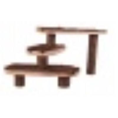 Natural Living Escalier Pour Petits Animaux, 38 × 24 Cm - Mon Animalerie