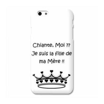 Coque Iphone 6 6s Humour moi chiante B
