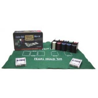 Coffret de Poker Casino Style Texas Hold\'em