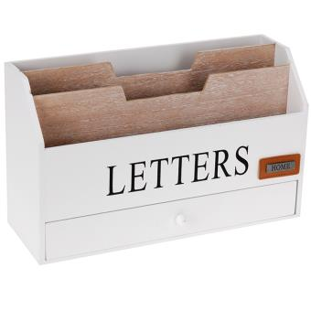 organiseur range courrier bureau rangement porte lettres. Black Bedroom Furniture Sets. Home Design Ideas
