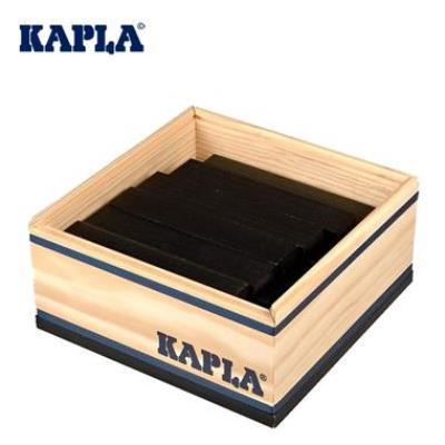 Jeu de construction Kapla 40 planchettes boîte carré colorées Enfant 3 ans +
