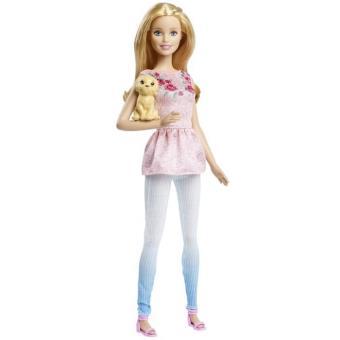 Barbie Et Son Petit Chien Mattel Clf97