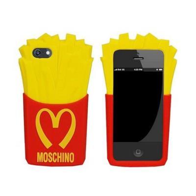 Coque souple silicone moschino iphone 5 5s