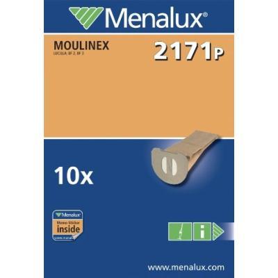 MENALUX 2171 P LOT DE 10 SACS POUR ASPIRATEUR MOULINEX