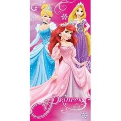 Serviette de plage ou drap de bain Princesse Disney - 820-175