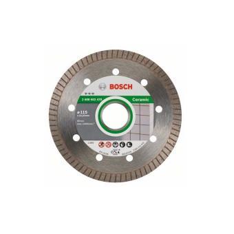 3053c99b2c9605 Disque À Tronçonner Diamanté Bosch D Turbo Spécial Céramique Et Pierre  125X22.23 Mm - 2608602479 - Roues et disques abrasifs - Achat   prix   fnac