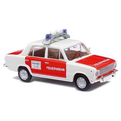BUSCH VOITURES - BUV50105 - MODÉLISME FERROVIAIRE - LADA 2101 POLICE