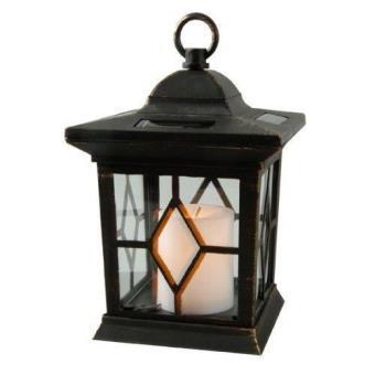 Captivating Lanterne Bougie Solaire Lampe Exterieur Pour Jardin Decoration Allumage  Automatique Couleur Noir Patiné   Luminaires Extérieur   Achat U0026 Prix | Fnac