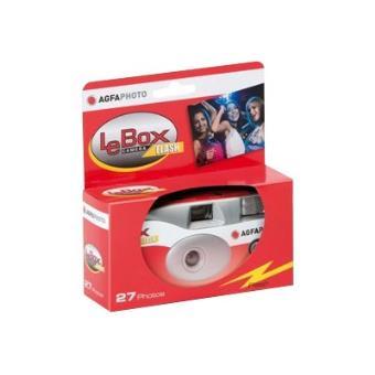 AgfaPhoto LeBox Camera Flash - Camera voor eenmalig gebruik - 35mm