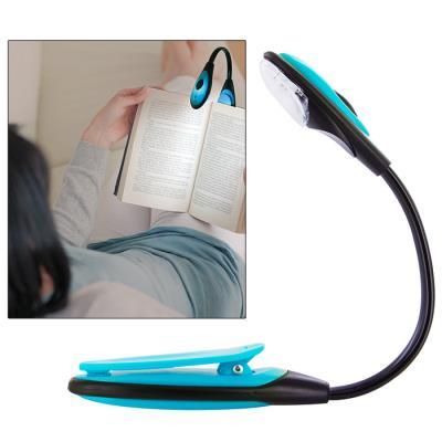 Lampe de lecture flexible LED pour livre, bricolage... - bleu