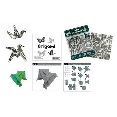 Origami fiches pédagogiques 10 fiches - oz international