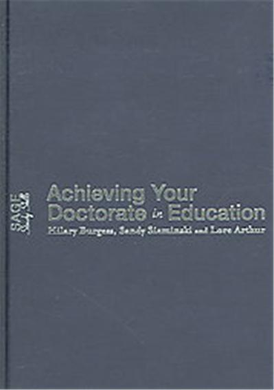 Achieving Your Doctorate in Education