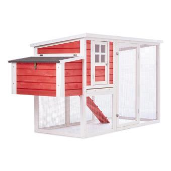 oneconcept villa ronaldo poulailler pour 2 poules. Black Bedroom Furniture Sets. Home Design Ideas
