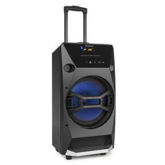 40 sur auna brooklyn beat syst me audio portable pour - Enceinte bluetooth avec port usb ...