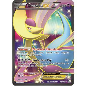 Carte pokemon cresselia ex full art 170 pv 143 149 ultra rare jeu de cartes achat prix - Carte pokemon ex rare ...