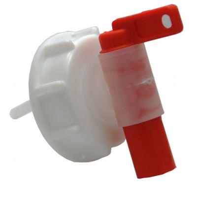 Raccord femelle Din61 - s60x6 avec robinet aeroflow