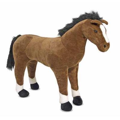 Peluche cheval Crazy