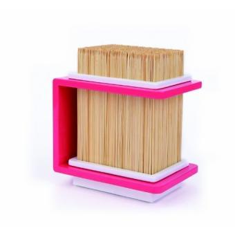 cookut fakirp bloc porte couteaux bois bambou rose achat prix fnac