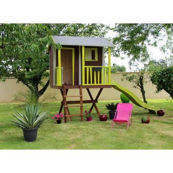 Cabane enfant dans les arbres en bois SOULET - Maisons de jardin ...