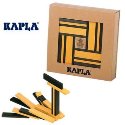 Jeu de construction Kapla coffret Cadeau Livre + 40 planchettes Enfant 3 ans +.
