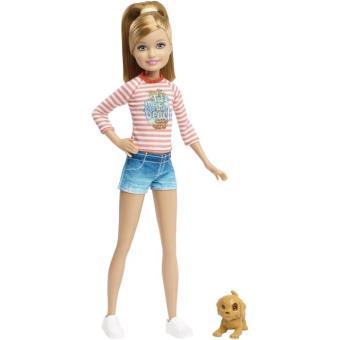 Barbie Stacie Et Son Petit Chien Mattel Clf99 Poupée