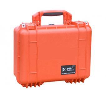 Valise Pelibox 1450 Avec Renfort En Mousse Couleur Orange Boite Plastique Autres Achat Prix Fnac