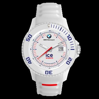250ee7e5dc503 Montre Ice Watch Ice BMW Motorsport BM.SI.WE.B.S.13 - Montre Silicone  Dateur Blanche Logo BMW Homme - Montre Homme - Achat & prix | fnac