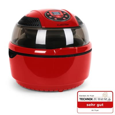 Klarstein VitAir Fryer Friteuse à air chaud 1400W -rouge