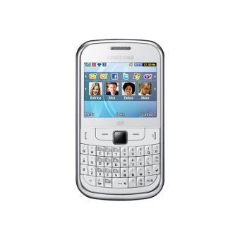 Téléphone GSM SAMSUNG CHAT 335 BLANC