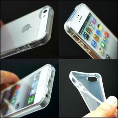 Coque souple silicone transparente iphone 5/5s