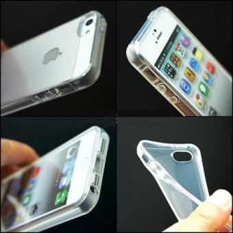 Coque souple silicone transparente iphone 5 5s
