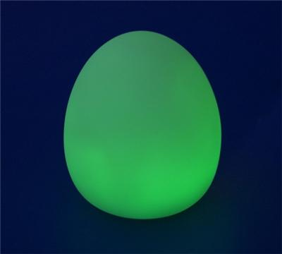 Lampe Decorative a LED Oeuf - Cycle de Couleurs - Veilleuse Relaxation