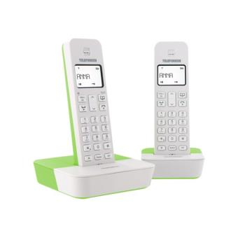 Téléphone GSM TELEFUNKEN TB302 BLANC VERT DUO SANS REPONDEUR