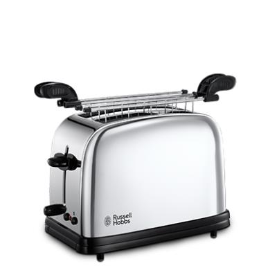 Russell hobbs 23310-57 chester grille pain inox brillant 1200 w