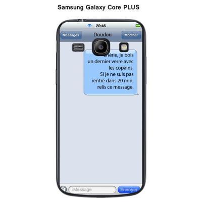 Coque Samsung Galaxy Core Plus G3500 Texto Chérie
