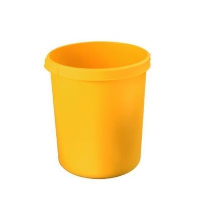 Corbeille à papier jaune han standard