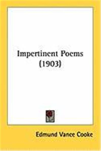 Impertinent Poems (1903)
