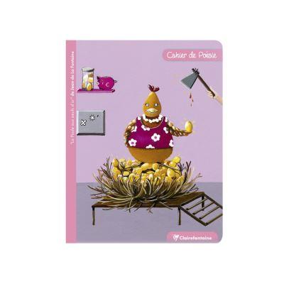 Cahier de Poésie - 17 x 22 cm - La Poule Aux Oeufs D'Or