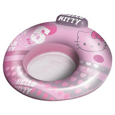 Chaise gonflable de plage - Hello Kitty