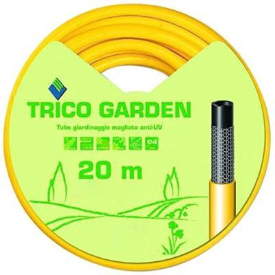 Fitt 76497-20 Tuyau Trico Garden, 20 3/4 M, Jaune/Noir