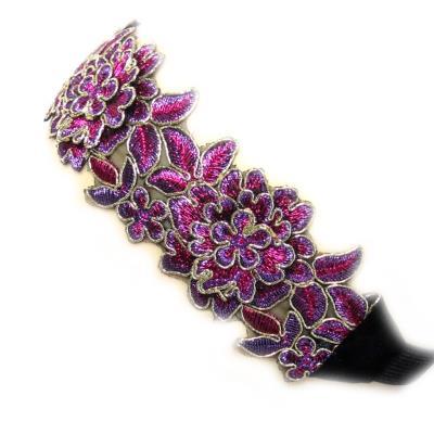 Serre-tête souple 'Altaï' violet