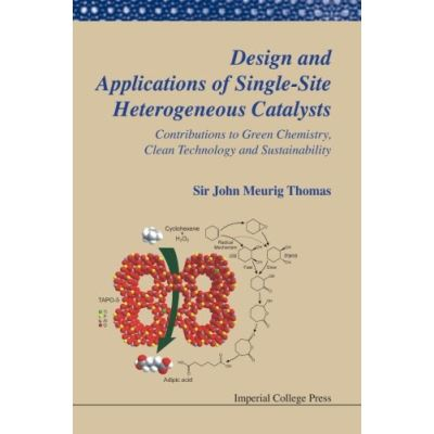 DESIGN AND APPLICATIONS OF SINGLE-SITE HETEROGENEOUS CATALYSTS: CONTRIBUTIONS TO GREEN CHEMISTRY, CLEAN TECHNOLOGY AND SUSTAINABILITY (Catalytic Science Series) - [Livre en VO]