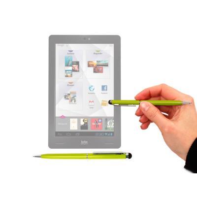 Stylet tactile vert 2 en 1 stylo pour écran de tablette kobo vox 7