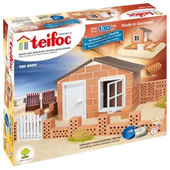 teifoc 2042822 jeu de construction en briques maison de plage autres jeux de. Black Bedroom Furniture Sets. Home Design Ideas