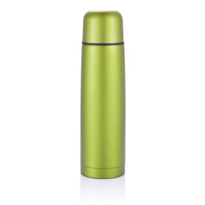 Bouteille thermos en acier inoxydable, vert
