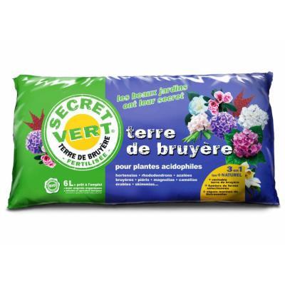 Secret Vert - Terreau à la terre de bruyère 2,5kg