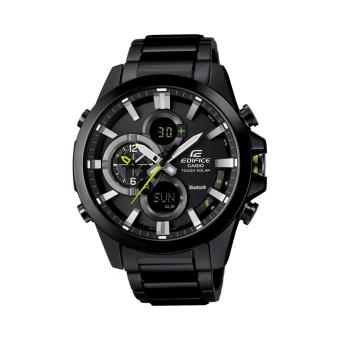 casio edifice bluetooth ecb 500dc 1aer l noir montre homme achat prix fnac. Black Bedroom Furniture Sets. Home Design Ideas