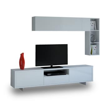 cubisl meuble tv biblioth que amarante c6 achat prix fnac. Black Bedroom Furniture Sets. Home Design Ideas