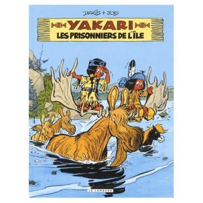 Yakari Tome 9 - Les Prisonniers De L'ile Derib